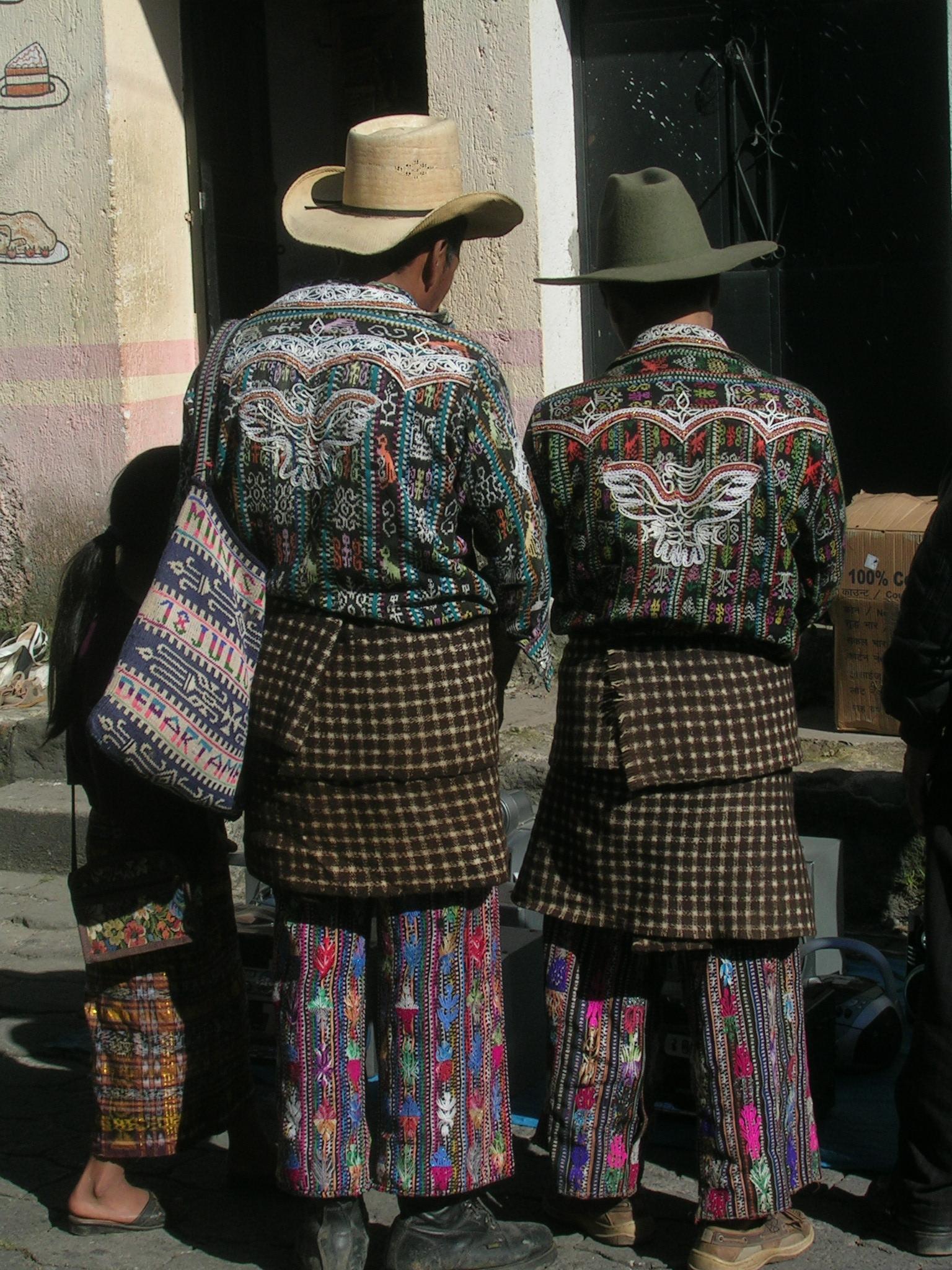 Guatemalan Traditional Clothing Men