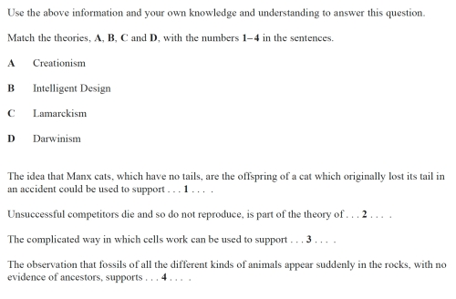 biology gcse questions and answers Gcse biology past papers from all years from the major exam boards including aqa, ocr (twenty first century and gateway), edexcel, wjec.
