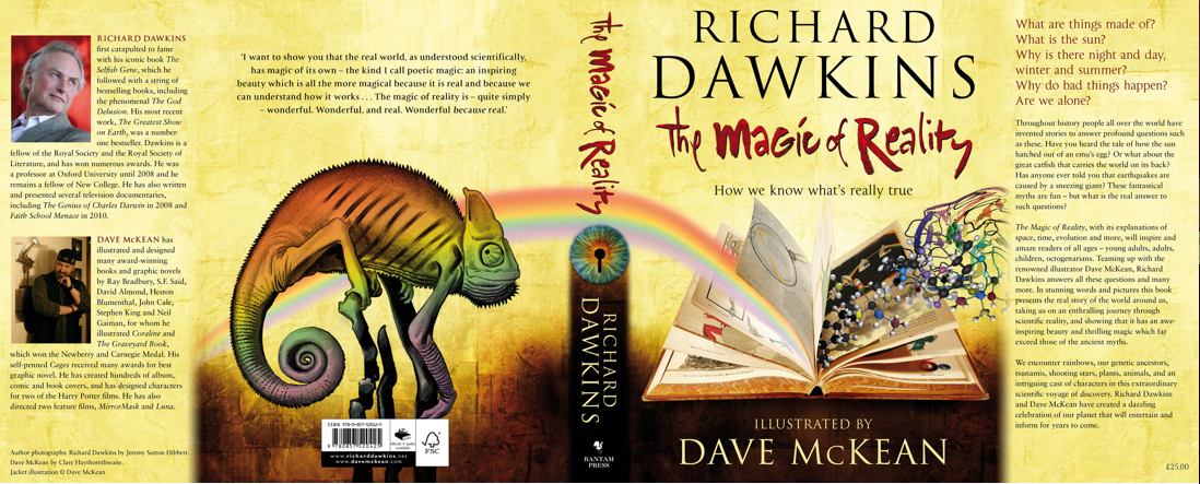 Booktopia - The Magic of Reality, How We Know What's ... |Richard Dawkins Book
