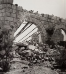Destruction along the Hejaz railway.