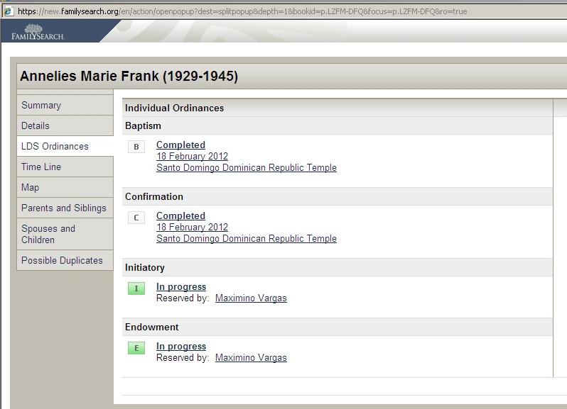 Mormonen bekeren Anne Frank 2