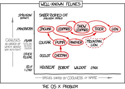 Xkcd Cat Names
