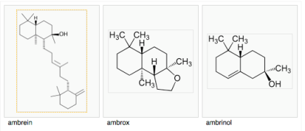 Ambergris components