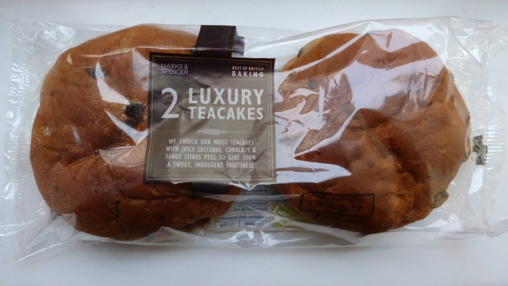 luxury teacakes