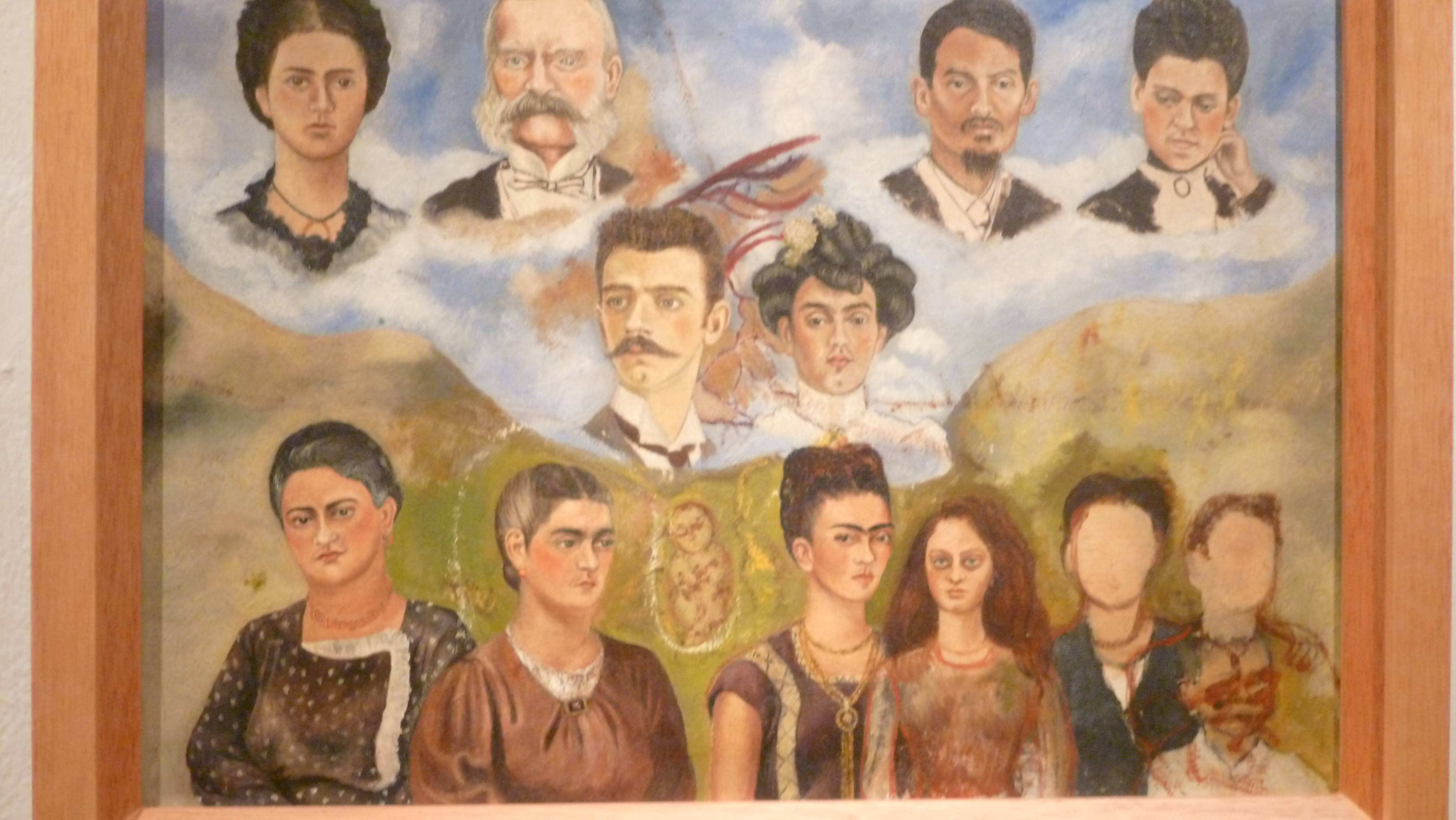 Painting Fridas Family Why Evolution Is True