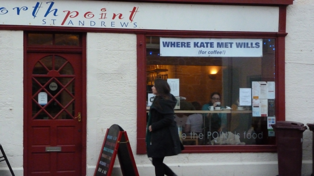 Where Kate met Wills