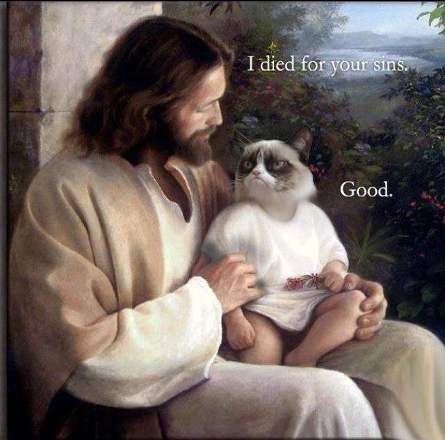 JesusGrumpyCat