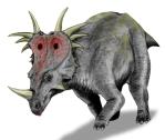 Styracosaurus_BW