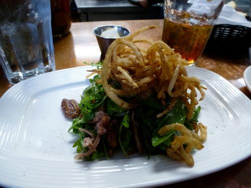 Cru Duck salad