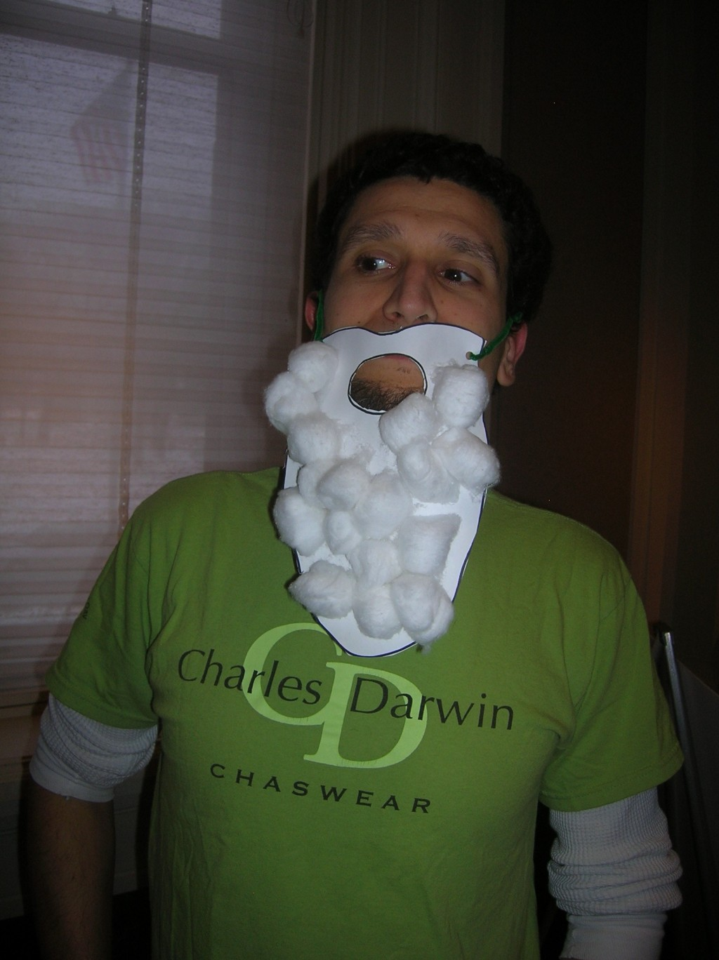 Chris Noto as Darwin.
