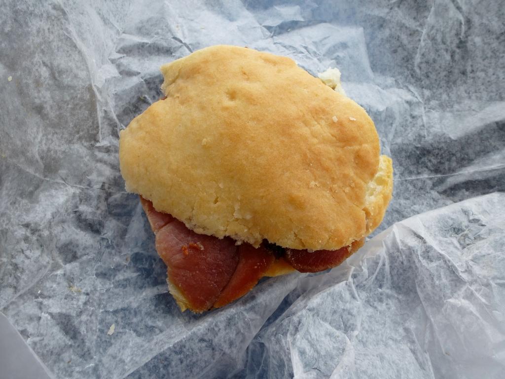 Ham biscuit