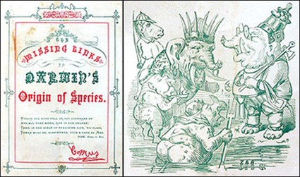 A book published by the Krewe in 1873 detailing their costumes.