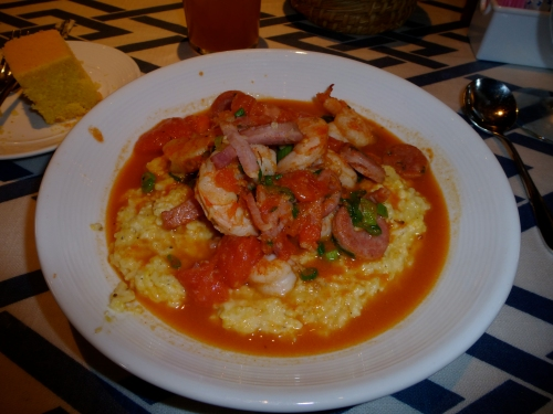 SNOB shrimp grits