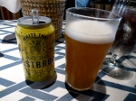 SNOB white Thai beer
