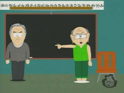 Dawkins on South Park