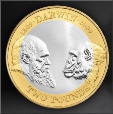 Darwin coin 2009