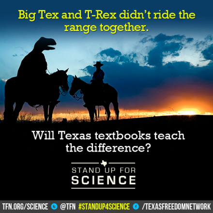 Tex and T Rex