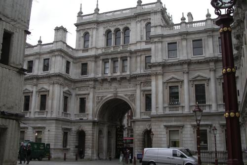 Burlington House today (from the Linnean Society).