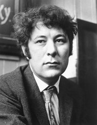 Seamus Heaney in 1970 (New York Times).