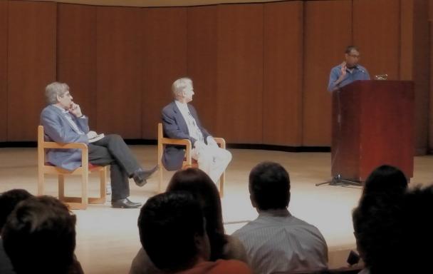 Hemant introducing JAC Dawkins