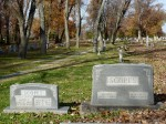 Family tombstone