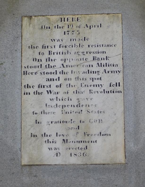 Condord plaque