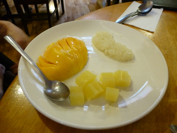 Mango and rice
