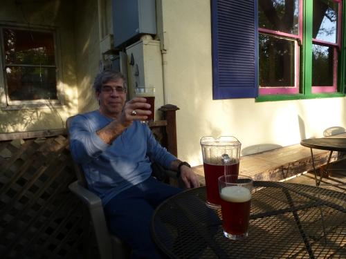 Beer in town