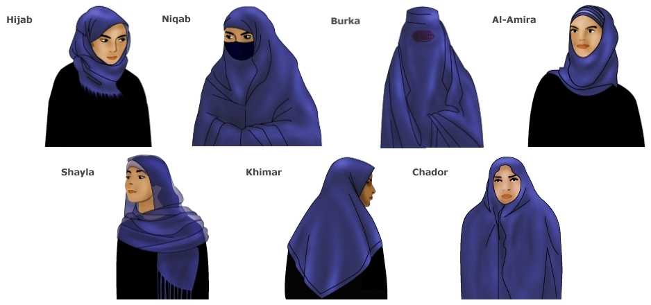 Hijab Veil Types 171 Why Evolution Is True