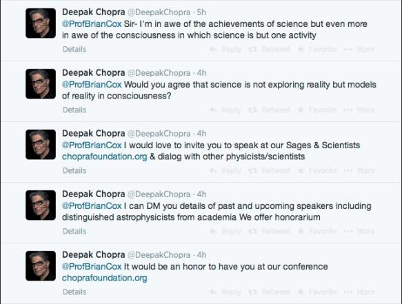 Deepak grovels