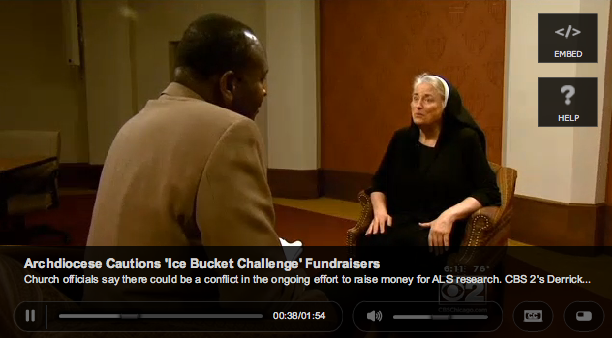f972aa824d6f Catholics object to Ice Bucket Challenge because ALS research uses human  embryos « Why Evolution Is True