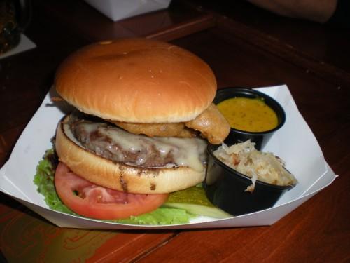 Munich burger.