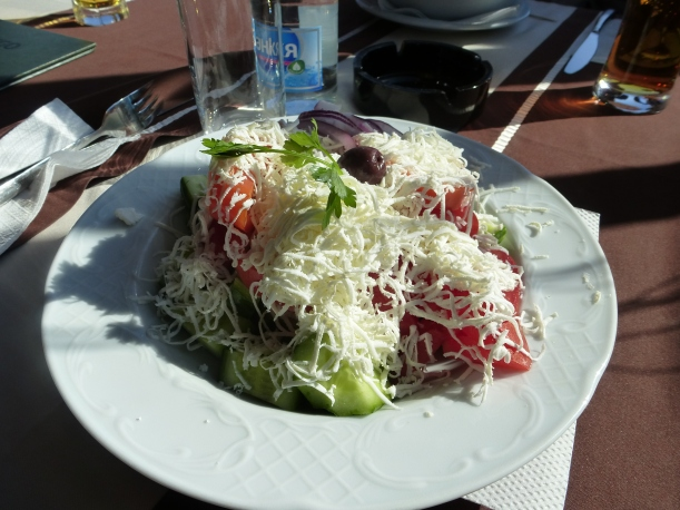 Shropska Salad