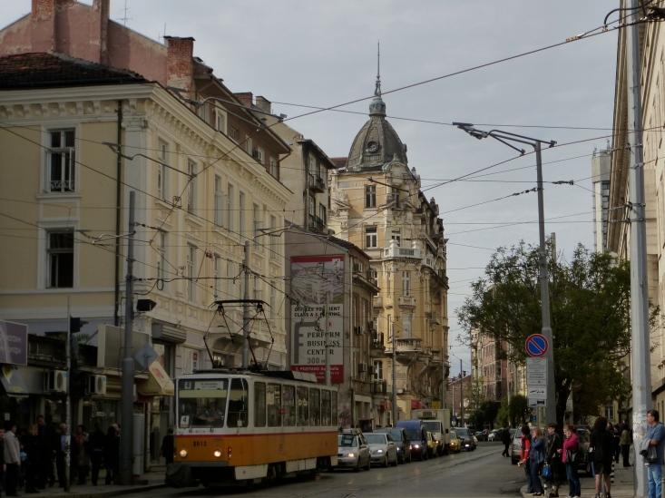 Street scene sofia