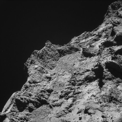 A view of the comet (European Space Agency, ESA).