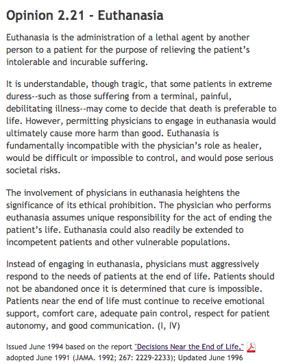 is euthanasia painful for humans