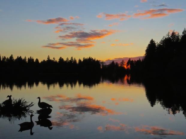 Sunset on Lost Lagoon