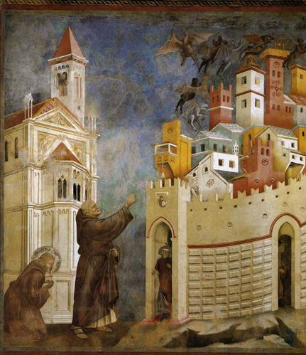 Exorcism of Arezzo - Giotto