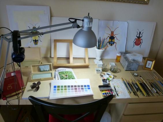 Beetle table