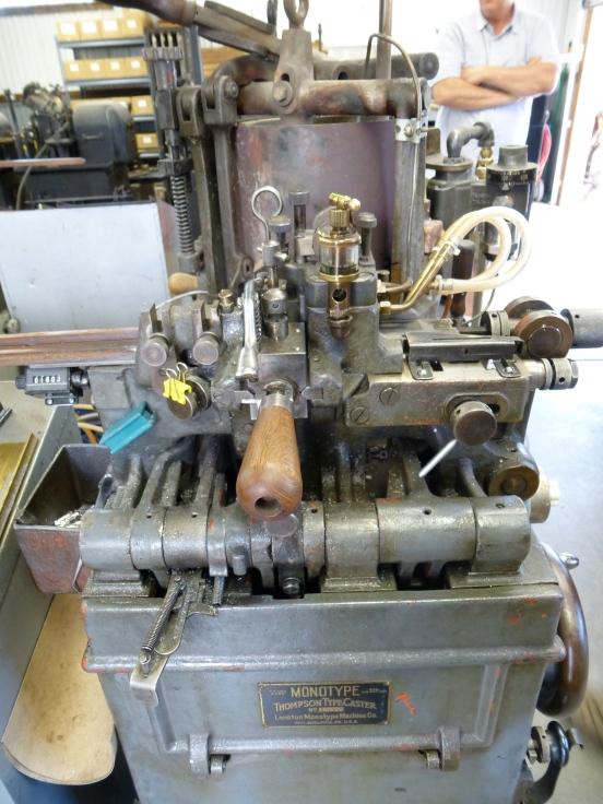 Printer type machine