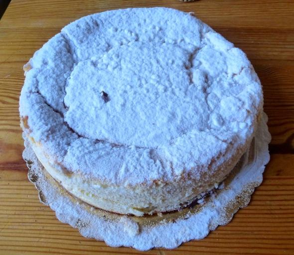 Retirement cheesecake