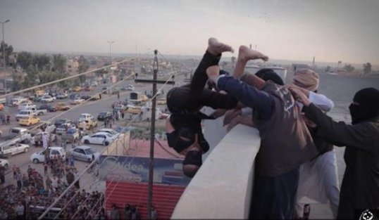 Image result for iran throws gay men off roof