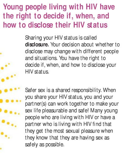 Informative speech on safe sex