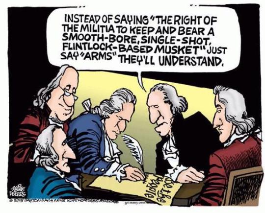 a discussion on the second amendment While the second amendment right—like all other rights—is not unlimited, any restrictions on the right must be found in the text and in the surrounding history and traditions of the right.