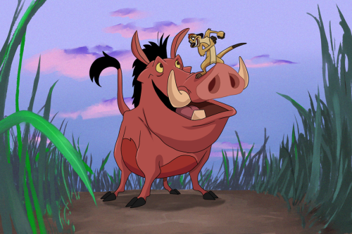 Beautiful-Picture-Of-Timon-And-Pumbaa