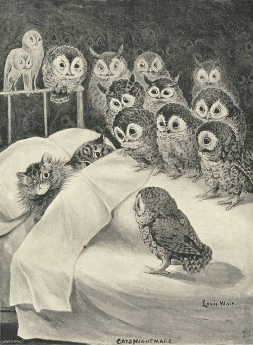 Cats Nightmare Louis Wain