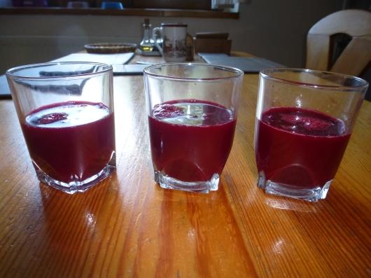 12. Cherry juice