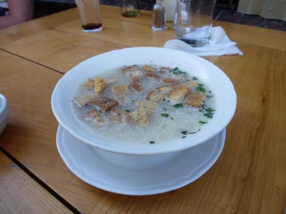 15. horseradish soup