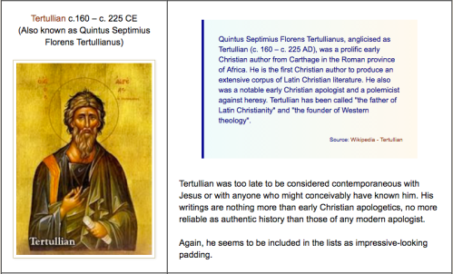 Not much evidence for a historical Jesus | Why Evolution Is True