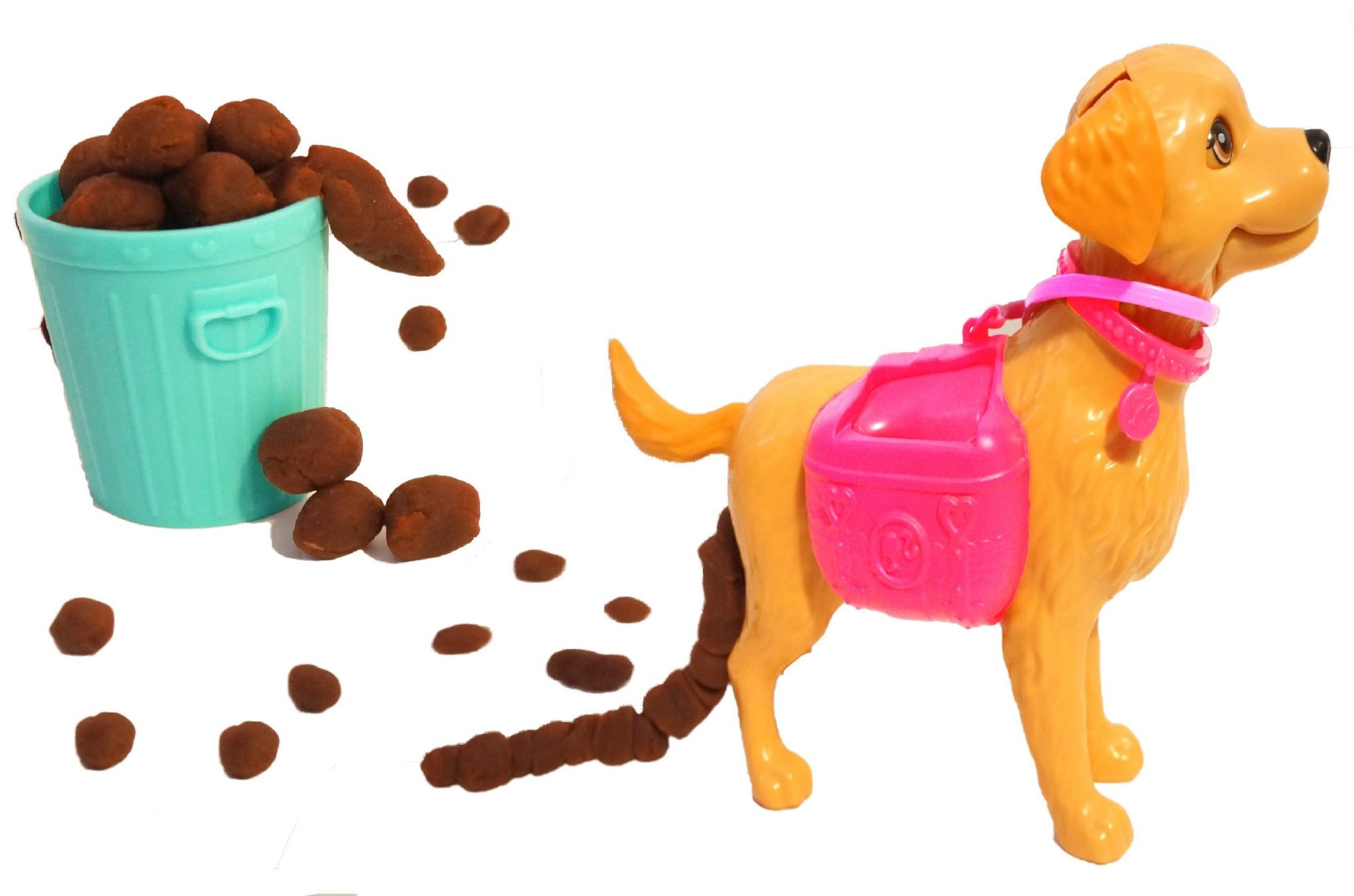 Play Doh Dogs Eating